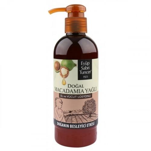 Eyüp Sabri Tuncer Doğal Macadamia Yağlı Elve Vücut Losyonu 250 ml