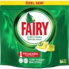 Fairy Hepsi Bir Arada Limon Kokulu Bulaşık Makinesi Tableti 100 lü