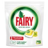 Fairy Hepsi Bir Arada Bulaşık Makinesi Kapsülü Limon 36 Yıkama