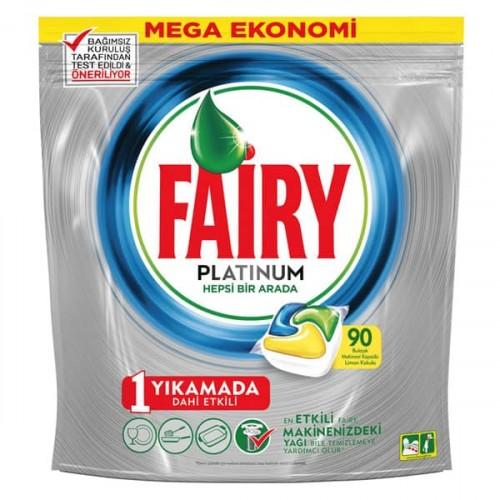 Fairy Platinum Bulaşık Makinesi Kapsülü 90 lı