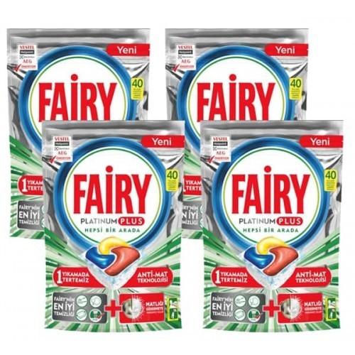 Fairy Platinum Plus Bulaşık Makinesi Deterjanı Kapsülü 160 Yıkama