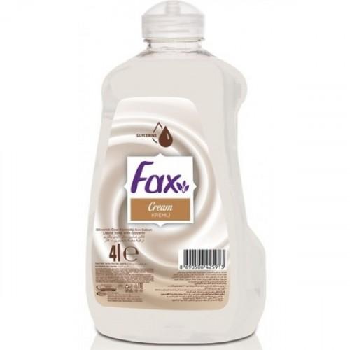 Fax Sıvı Sabun Krem Ekonomik Paket 4 lt