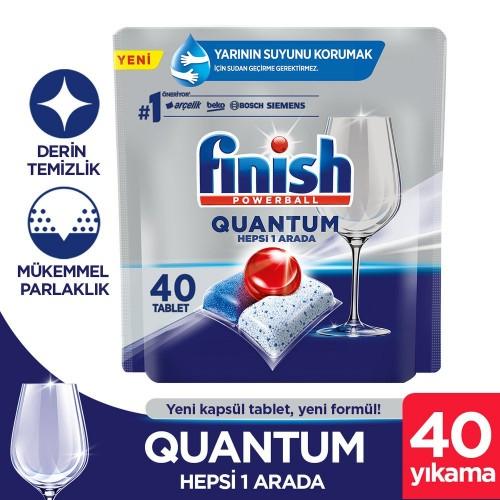 Finish Quantum Bulaşık Bakinesi Tableti 40 lı