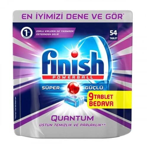 Finish Quantum Bulaşık Makinesi Tableti 54 lü