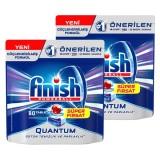 Finish Quantum Bulaşık Makinesi Tableti 80 li x 2 Adet