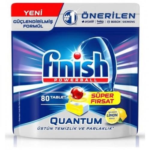 Finish Quantum Limon Ferahlığı Bulaşık Makinesi Tableti 80 li