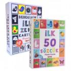 Flash Cards İlk 50 Sözcük + Bebeğimin İlk Zeka Kartları