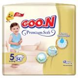 Goon Bebek Bezi Premium Junior 5 No 24 lü