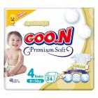 Goon Bebek Bezi Premium Soft Maxi 4 No 24 lü