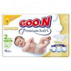 Goon Bebek Bezi Premium Soft Mini 2 No 34 lü