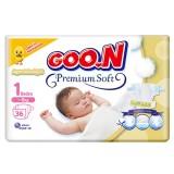Goon Bebek Bezi Premium Soft Yenidoğan 1 No 36 lı