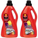 Happy Clean Sıvı Çamaşır Deterjanı Canlı Renkler 3 lt x 2 Adet