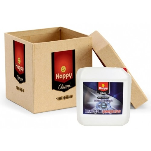 Happy Clean Ultra Çamaşır Suyu Kar Beyazı 4 Kg x 4 Adet