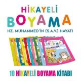 Hikayeli Boyama Hz. Muhammedin (S.A.V.) Hayatı 10 Kitap - Suat Karadağ
