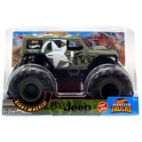 Hot Wheels Monster Trucks HW Army Jeep Gjg71