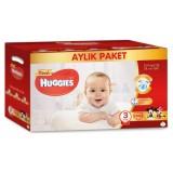 Huggies Bebek Bezi Aylık Paket Midi 3 Beden 100 lü