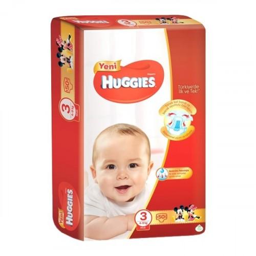 Huggies Bebek Bezi Jumbo Midi 3 Beden 50 li