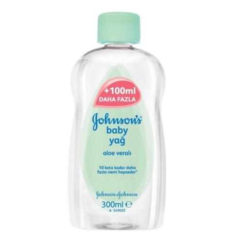 Johnsons Bebek Yağı Aloe Veralı 300 ml