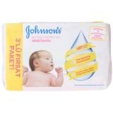 Johnsons Baby Yenidoğan Islak Mendil 56lı (3lü Fırsat Paketi)