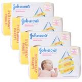 Johnsons Baby Yenidoğan Islak Mendil 56lı 3 lü x 4 Adet (672 Yaprak)