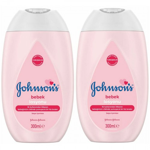Johnsons Bebek Losyonu 300 ml x 2 Adet