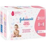 Johnson's Islak Havlu Hassas 72 li x 3 Adet (216 Yaprak)