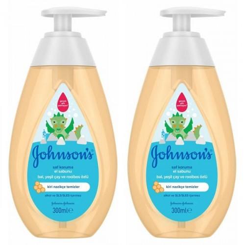 Johnsons Saf Koruma El Sabunu 300 ml x 2 Adet
