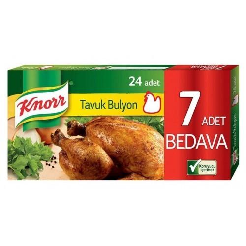 Knorr Tavuk Bulyon 24 lü 240 gr