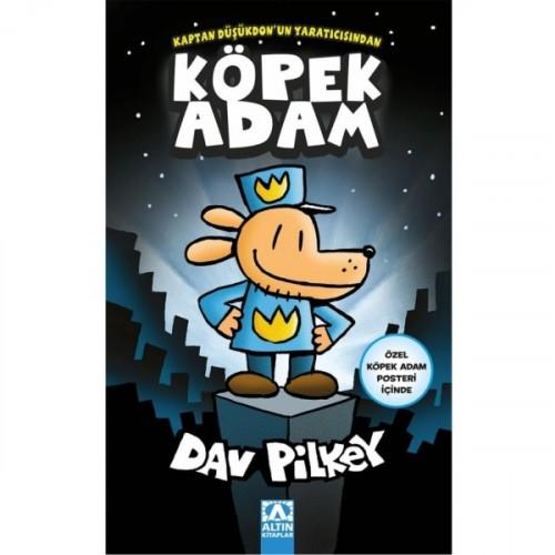 Köpek Adam (Özel Köpek Adam Posteri İçinde) - Dav Pilkey