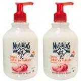 Le Petit Marseiliais Şeftali ve Nektarin Sıvı Sabun 500 ml x 2 Adet