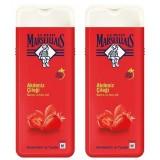 Le Petit Marseillais Duş Jeli Akdeniz Çileği 400 ml x 2 Adet
