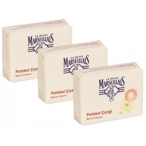 Le Petit Marseillais El Ve Bakım Sabunu Portakal Çiçeği 90 gr x 3 Adet