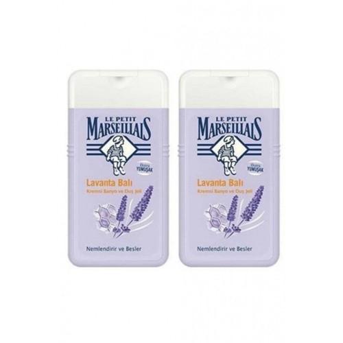 Le Petit Marseillais Lavanta Balı Duş Jeli 250 ml x 2 Adet