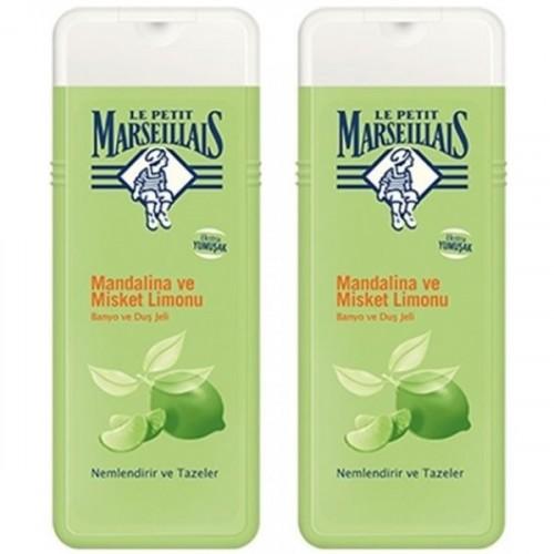 Le Petit Marseillais Mandalina-Misket Limon Duş Jeli 400 ml x 2 Adet