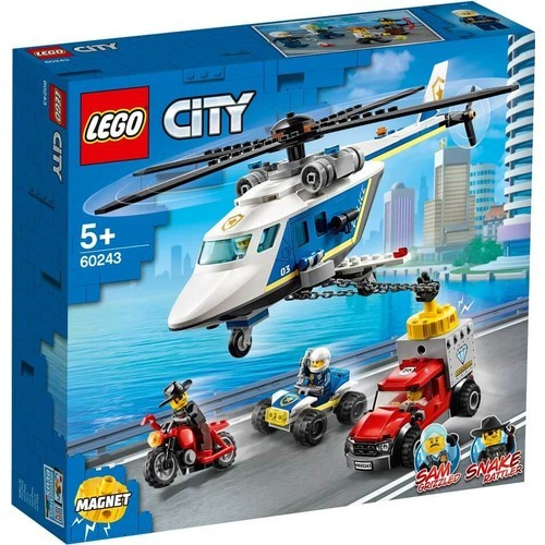 Lego City Helıcopter Chase 60243