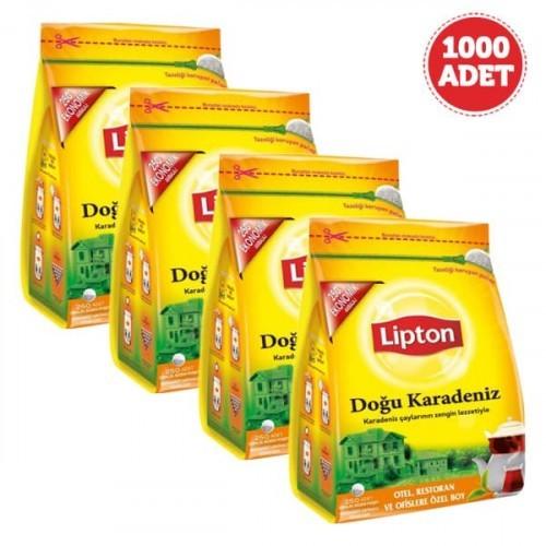 Lipton Doğu Karadeniz Demlik Poşet Çay 250 li x 4 Adet
