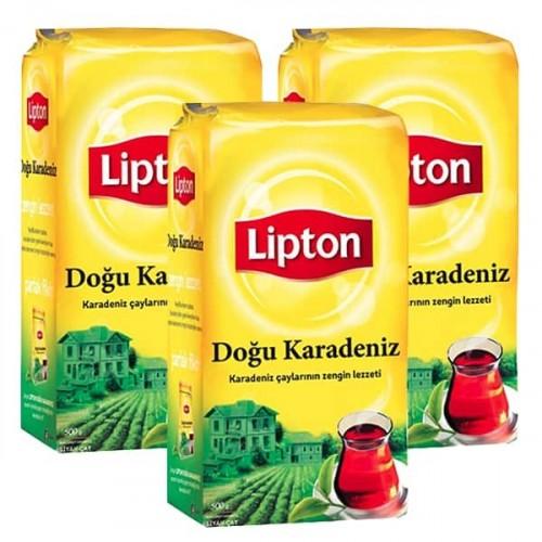 Lipton Dökme Çay Doğu Karadeniz 500 gr x 3 Adet