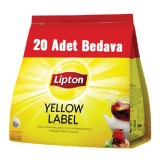 Lipton Demlik Poşet Çay Yellow Label 120 li