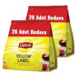 Lipton Demlik Poşet Çay Yellow Label 120 li x 2 Adet