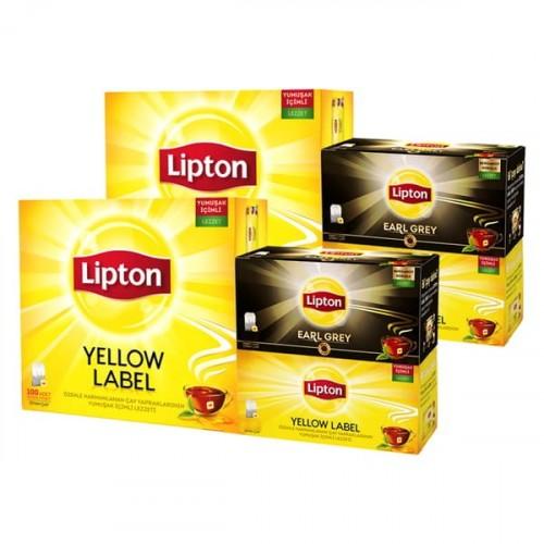 Lipton Bardak Poşet Çay Yellow Label 140 adet x 2 Adet