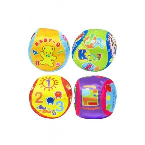 Love Baby 4'lü Yumuşak Eğitici Top