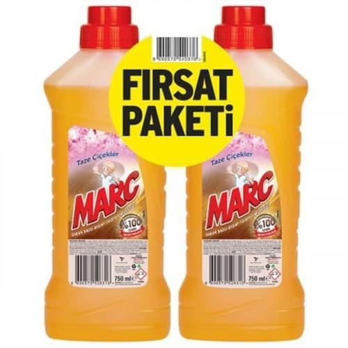 Marc Ahşap Temizleyici 750 ml (2 li Paket)