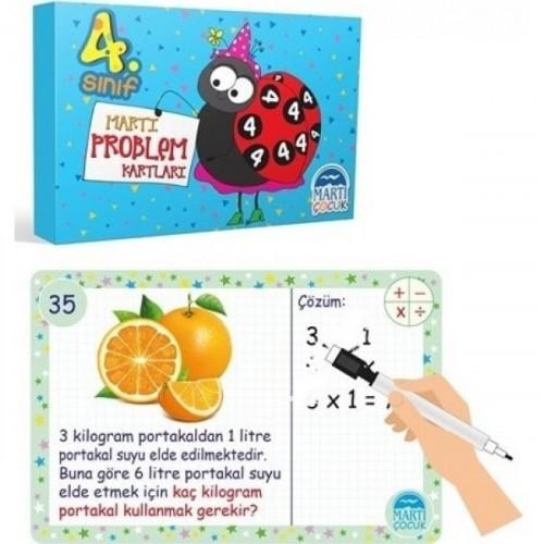 Martı Problem Kartları 4. Sınıf - Refik Çapar