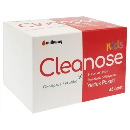 Milkway Cleanose Kids Burun ve Sinüs Temizleme Solüsyonu Yedek 48 li