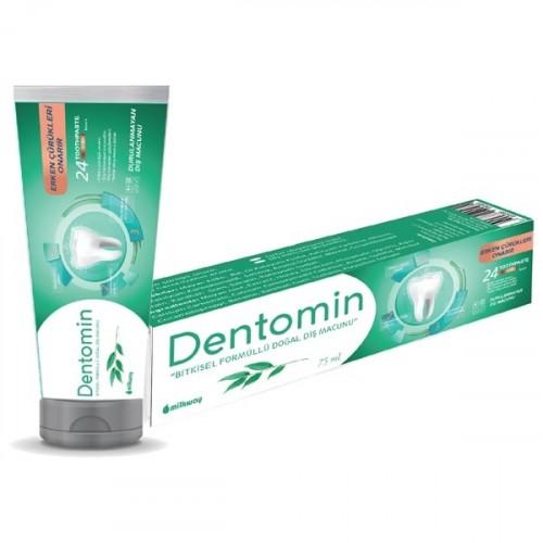 Milkway Dentomin Bitkisel Formüllü Doğal Diş Macunu
