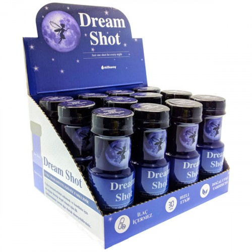 Milkway Dream Shot İyi Uykular İçeceği x 12 Adet