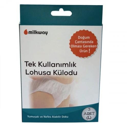 Milkway Tek Kullanımlık Loğusa Külodu Large