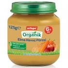 Milupa Organik Elma Havuç Püresi 125 gr