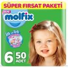 Molfix Bebek Bezi 6 Beden Ekstra Large Süper Fırsat Paketi 50 Adet