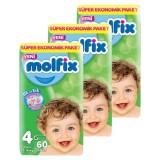 Molfix Bebek Bezi Dev Ekonomi Maxi 4 No 60 lı x 3 Adet